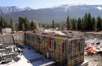 Construction of Evan Thomas Water & Wastewater Treatment Plant