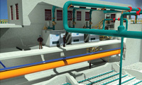 Rendering of Regina Wastewater Treatment Plant