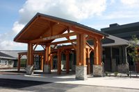 Entrance to The Meadows Swift Current Long Term Care Centre